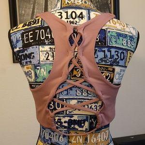 Victoria's Secret Ultimate Pink bra, size large